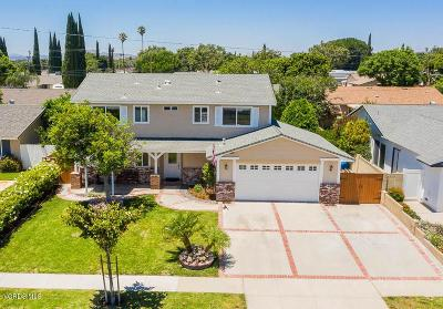 Simi Valley Single Family Home For Sale: 2253 Lindale Avenue