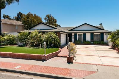 Ventura Single Family Home For Sale: 8596 Hollister Street