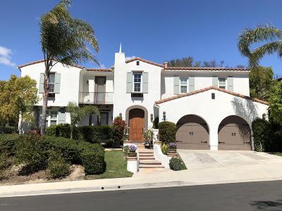 Thousand Oaks Single Family Home For Sale: 490 Rye Court