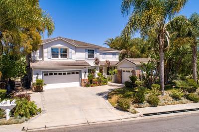 Camarillo Single Family Home For Sale: 7223 Camino Las Ramblas