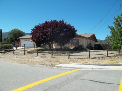 Tehachapi Single Family Home For Sale: 21451 Santa Maria Drive