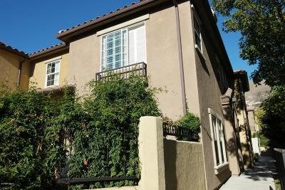 Thousand Oaks Condo/Townhouse For Sale: 316 East Hilltop Way