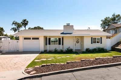 Camarillo Single Family Home For Sale: 272 Grandview Circle