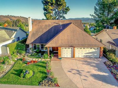 Thousand Oaks Single Family Home For Sale: 1824 Woodside Drive