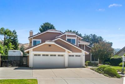 Simi Valley Single Family Home For Sale: 3190 Crazy Horse Drive