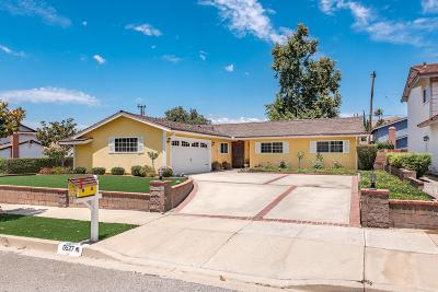 Simi Valley Single Family Home For Sale: 6527 Almar Street