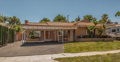 North Hollywood Single Family Home For Sale: 7665 Beeman Avenue