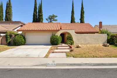 Agoura Hills Single Family Home For Sale: 28903 Timberlane Street