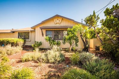 North Hollywood Single Family Home Active Under Contract: 13032 Burton Street