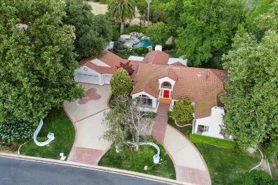 Westlake Village Single Family Home Active Under Contract: 1514 Falling Star Avenue