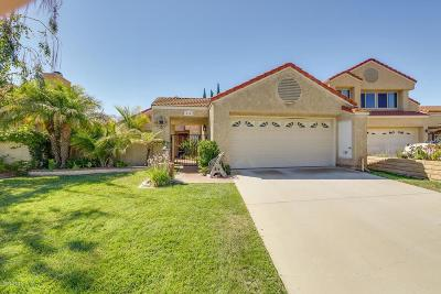 Moorpark Single Family Home For Sale: 15362 East Benwood Drive