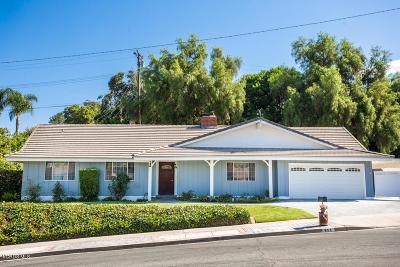 Thousand Oaks Single Family Home For Sale: 111 Whitworth Street