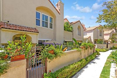 Chatsworth Condo/Townhouse For Sale: 22307 Mission Circle