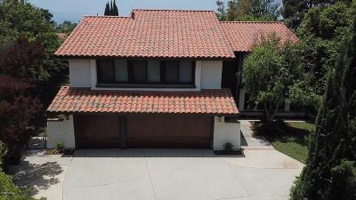 Thousand Oaks Single Family Home For Sale: 2096 McCrea Road