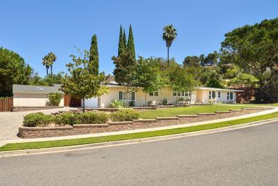 Thousand Oaks Single Family Home For Sale: 717 Calle Mandarinas
