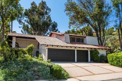 Westlake Village Single Family Home For Sale: 1219 Brookview Avenue