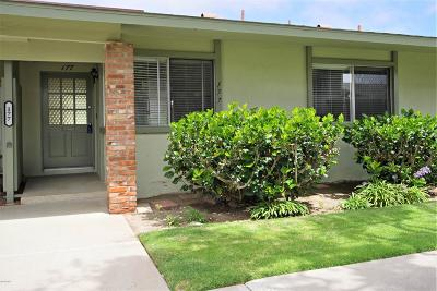Ventura County Condo/Townhouse Active Under Contract: 177 West Carmel Green Street