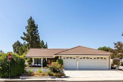 Thousand Oaks Single Family Home For Sale: 1401 Northwood Parkway