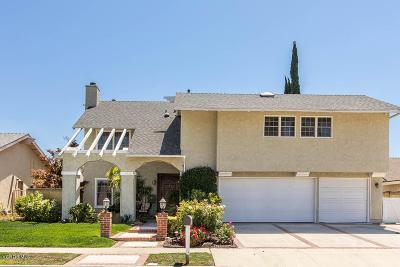 Simi Valley Single Family Home For Sale: 2222 Burnside Street