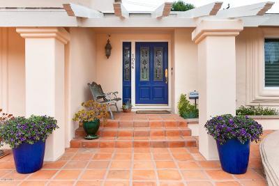 Ventura Single Family Home For Sale: 1066 Via Arroyo