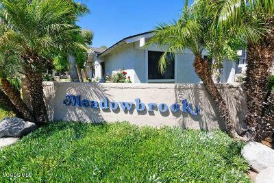 Ventura County Condo/Townhouse Active Under Contract: 3453 Highwood Court #122