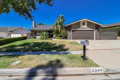 Simi Valley Single Family Home For Sale: 3349 Texas Avenue