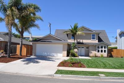 Camarillo Single Family Home For Sale: 2827 Munson Street