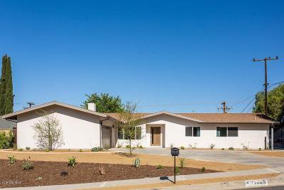 Thousand Oaks Single Family Home For Sale: 1065 Falmouth Street