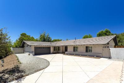 Thousand Oaks Single Family Home For Sale: 2980 Sapra Street