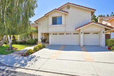 Moorpark Single Family Home Active Under Contract: 4235 Laurel Glen Drive