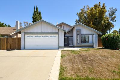 Camarillo Single Family Home For Sale: 6150 Calle Bodega