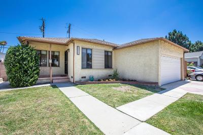 Culver City Single Family Home For Sale: 11550 Segrell Way