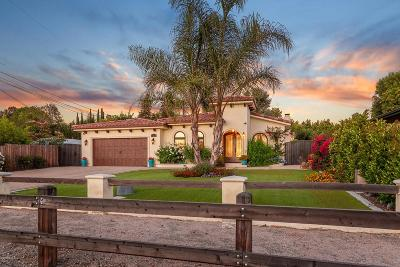 Agoura Hills Single Family Home For Sale: 5322 Lewis Road