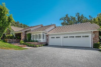 Westlake Village Single Family Home For Sale: 5503 South Rim Street