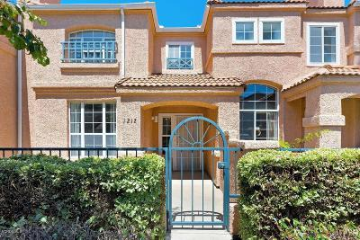 Ventura County Condo/Townhouse For Sale: 1212 Nautical Way