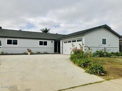 Ventura Single Family Home For Sale: 10580 Modoc Street