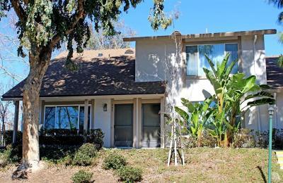 Ventura County Condo/Townhouse For Sale: 595 Rio Grande Circle