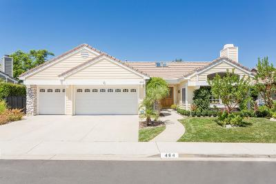 Thousand Oaks Single Family Home For Sale: 464 Twin Oaks Court