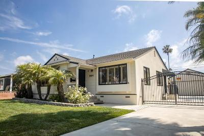 Ventura Single Family Home For Sale: 864 Arbor Avenue