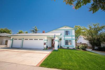 Simi Valley Single Family Home For Sale: 1786 Fitzgerald Road