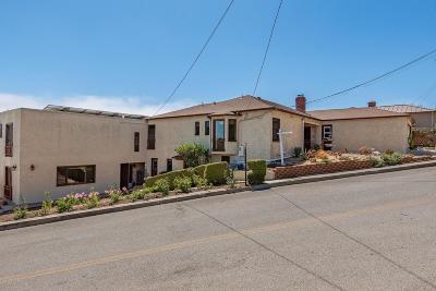 Ventura Single Family Home For Sale: 2426 Palomar Avenue
