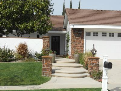 Thousand Oaks Single Family Home For Sale: 7 Venus Street