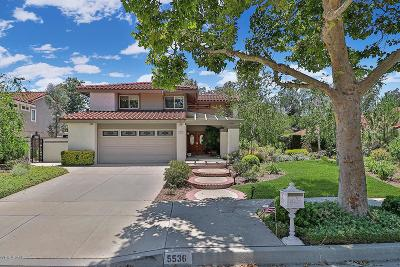 Simi Valley Single Family Home For Sale: 5536 Indian Hills Drive