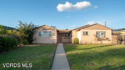 Ventura County Single Family Home For Sale: 1235 West Hemlock Street