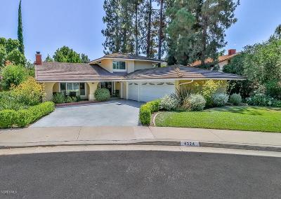 Single Family Home For Sale: 4324 Abbington Court