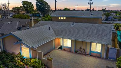 Ventura County Single Family Home For Sale: 1224 Seaport Drive