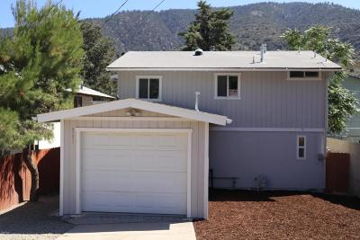 Frazier Park Single Family Home For Sale: 4200 Mt Pinos Way
