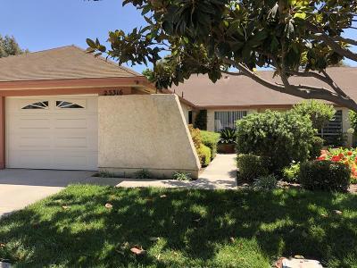 Camarillo Single Family Home For Sale: 25316 Village 25