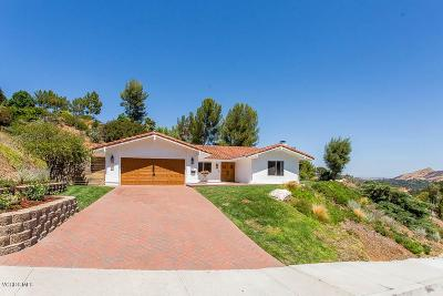 Single Family Home For Sale: 2052 Hillsbury Road