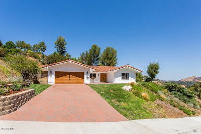 Westlake Village Single Family Home For Sale: 2052 Hillsbury Road